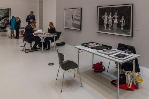 Präsentationstisch Portfoliowalk DFA 2017, Hamburg, Web-Kopie
